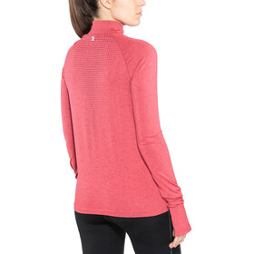 Odlo Irbis Warm 1/2 Zip Midlayer Women rumba red-hibiscus